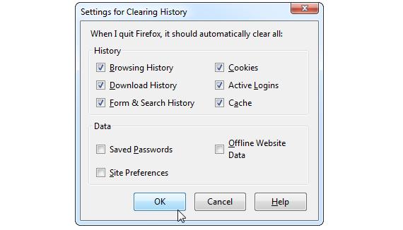 privacidad en Firefox 03