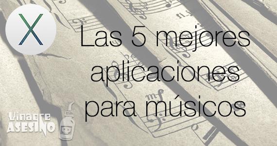 Músicos - Aplicaciones OS X