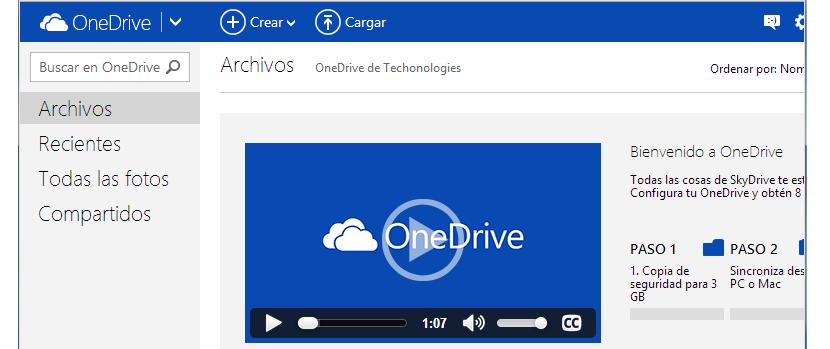 características de Onedrive 03