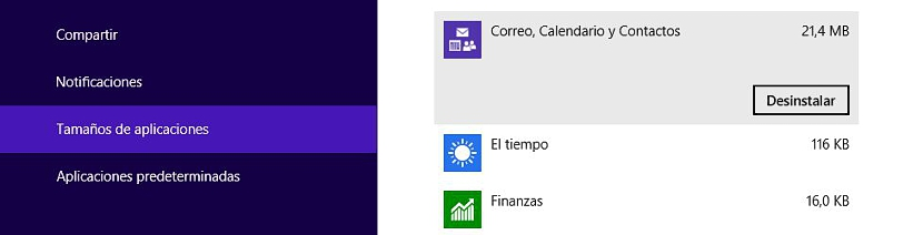 06 espacio que ocupas las aplicaciones en Windows 8.1