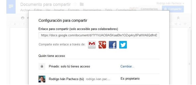 Google Docs en la web 05