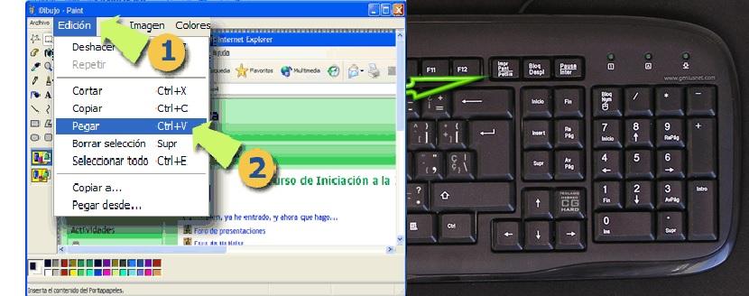 Los atajos de teclado 03