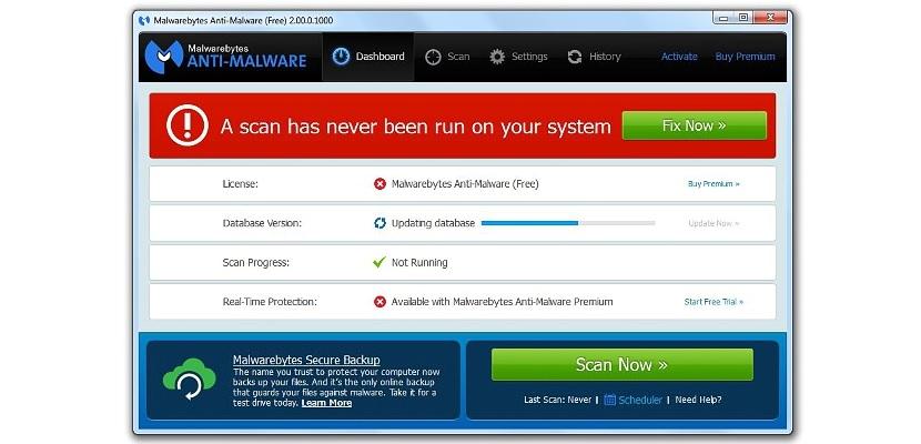 Malwarebytes Anti-Malware 03