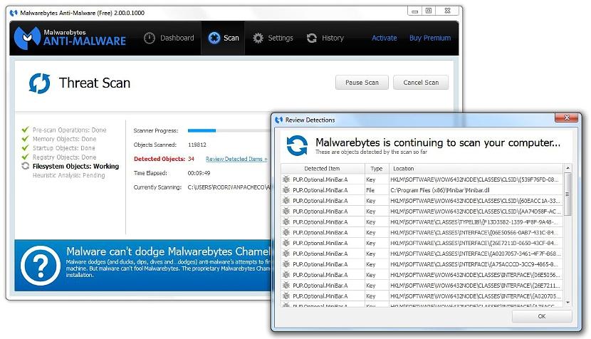 Malwarebytes Anti-Malware 07