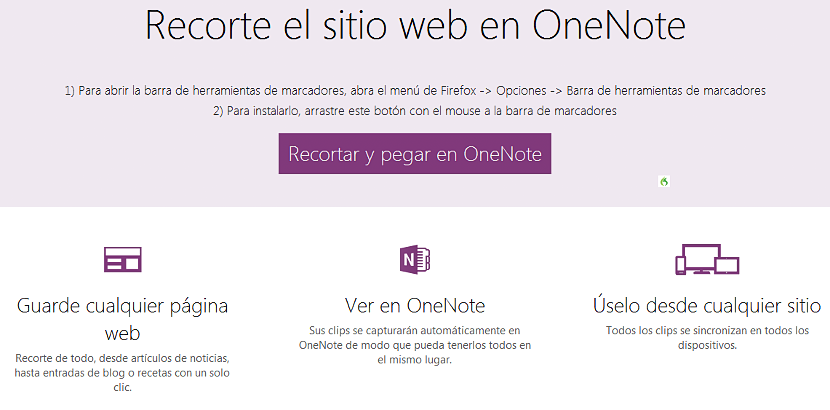 OneNote Clipper 01