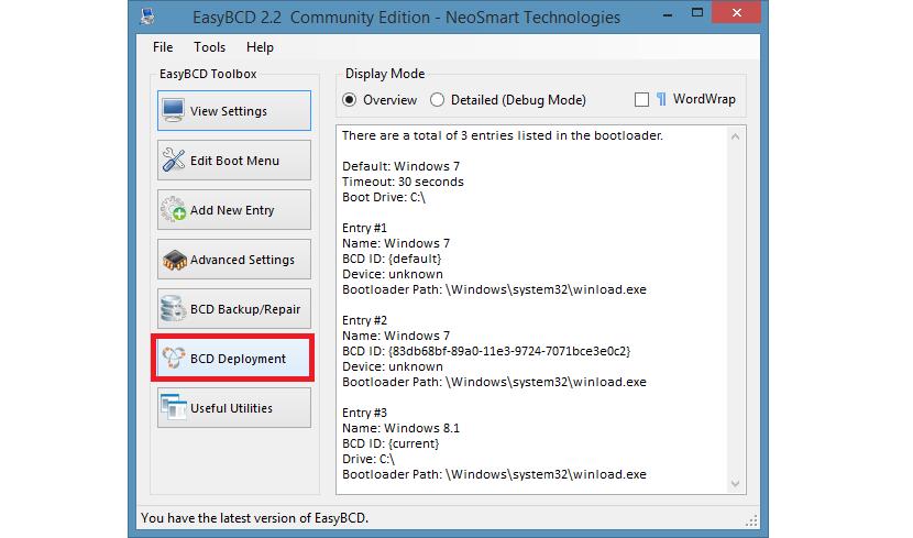 usar EasyBCD para crear un instalador de Windows 03