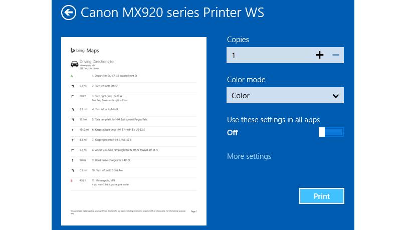 06 impresoras en Windows 8.1