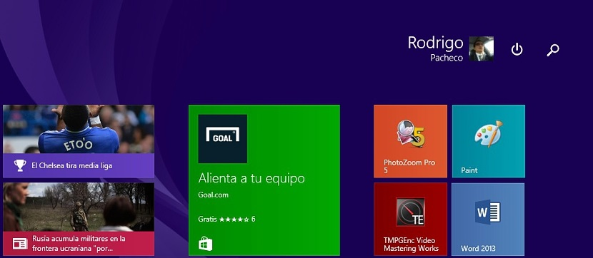 azulejos en Windows 8.1