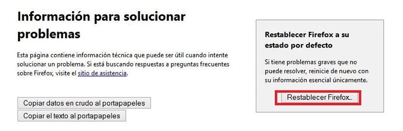 reiniciar Firefox 03