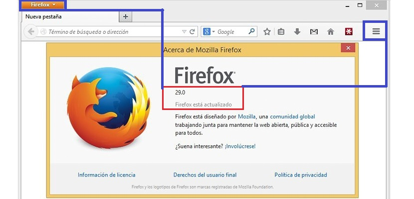 01 interfaz clásica en Firefox 29