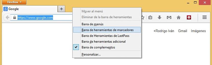 03 interfaz clásica en Firefox 29