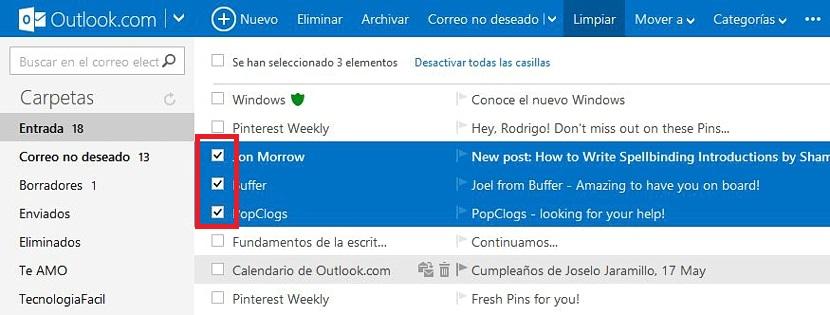 bloquear contactos en Outlook 01