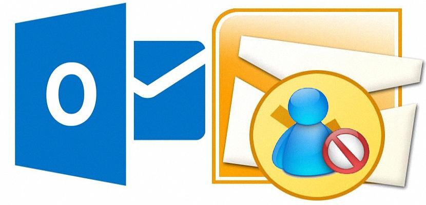 bloquear contactos en Outlook