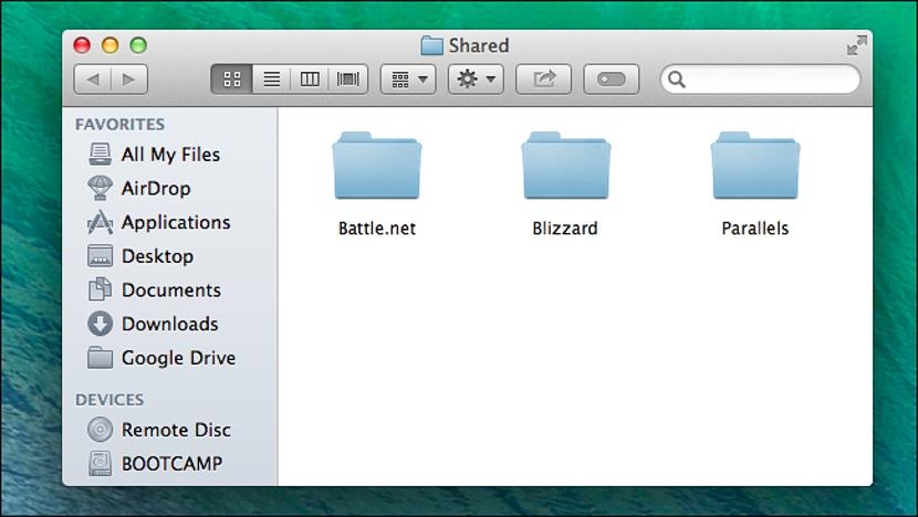 compartir archivos publicamente en Mac