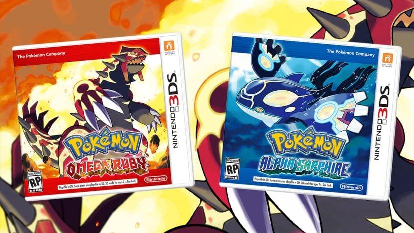 Pokémon Omega Rubí Alpha Zafiro