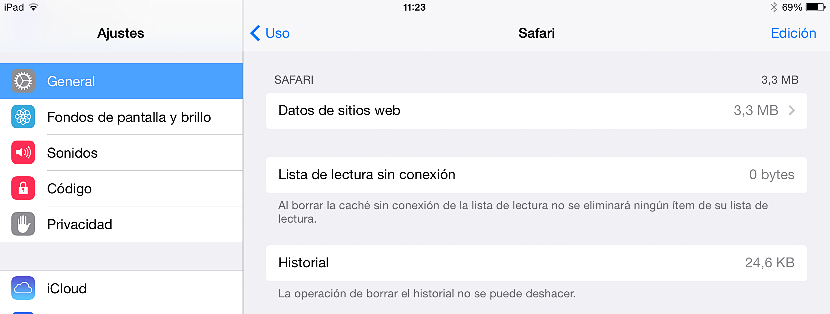 Limpiar espacio en iPad 04