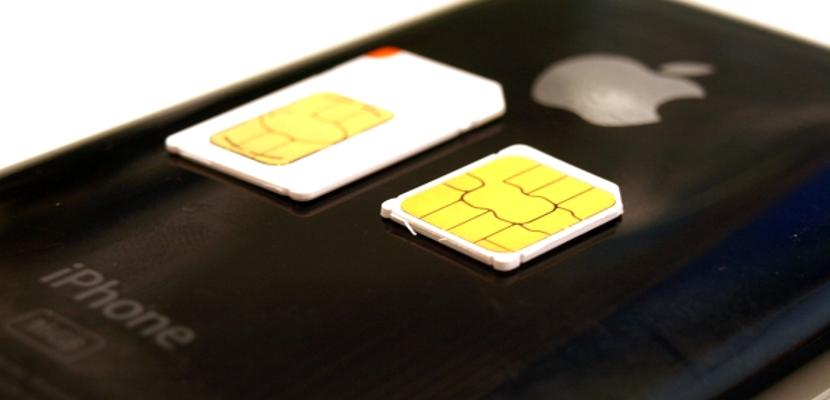 SIM de un iPhone