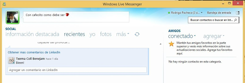 04 windows live messenger en Windows 8.1