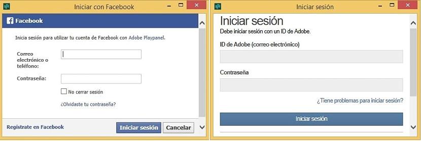 Adobe Playpanel - inicio sesion 01
