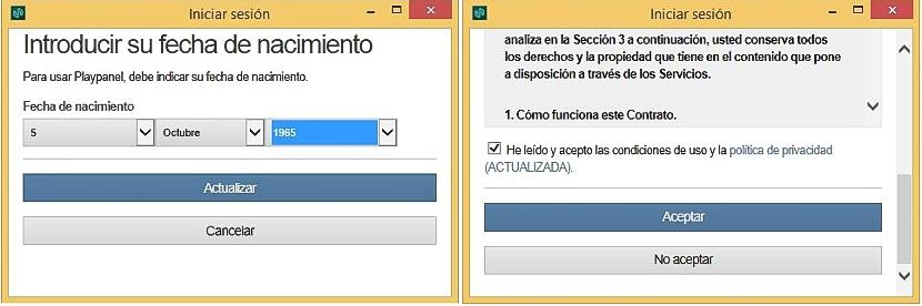 Adobe Playpanel - inicio sesion 02