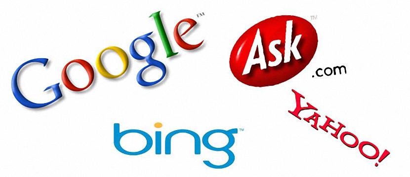 motores de búsqueda en IE