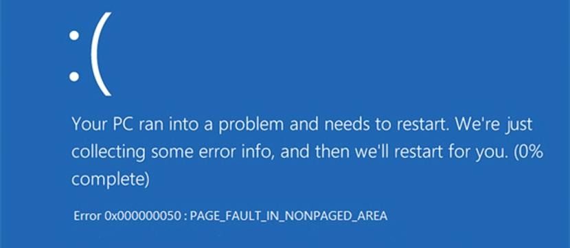 Pantallazo Azul por actualizaciones de Agosto de Microsoft