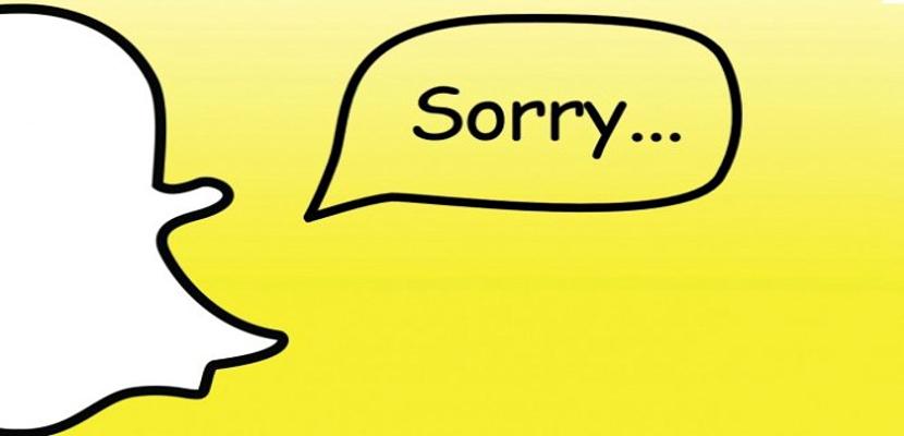 Snapchat bloqueado