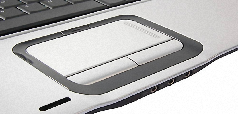 Touchpad en ordenadores portátiles