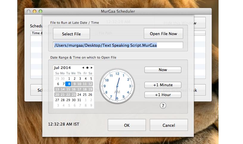 programar tareas en Mac OS X 02