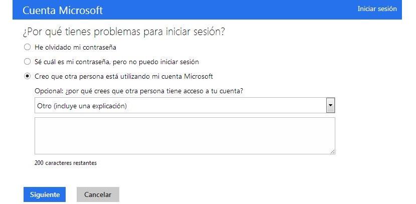 recuperar la clave de Hotmail hackeada
