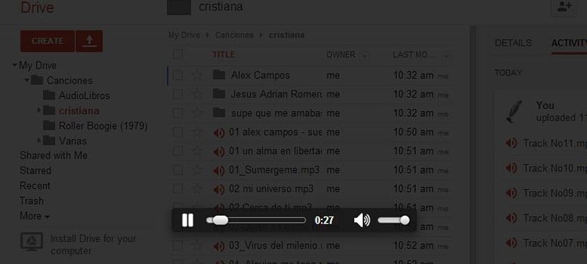 reproducir archivos de audio de Google Drive 01