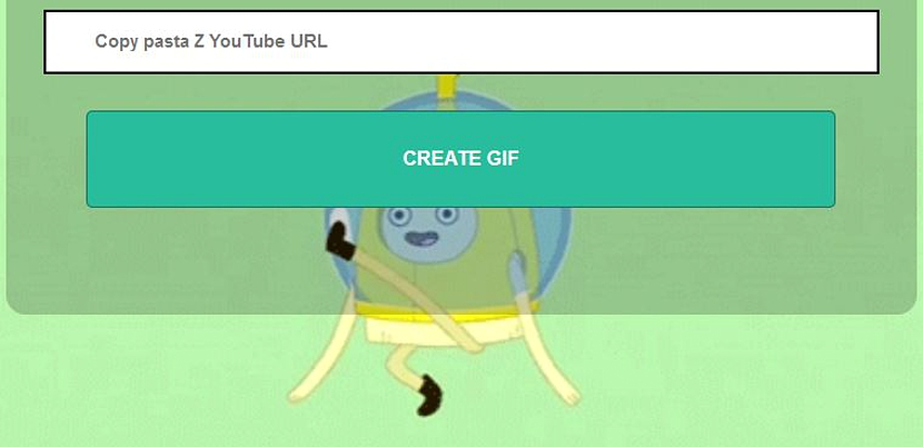 Gif animado de Youtube