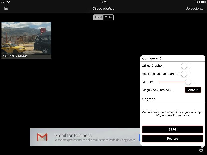 crear un Gif animado en el iPad 02