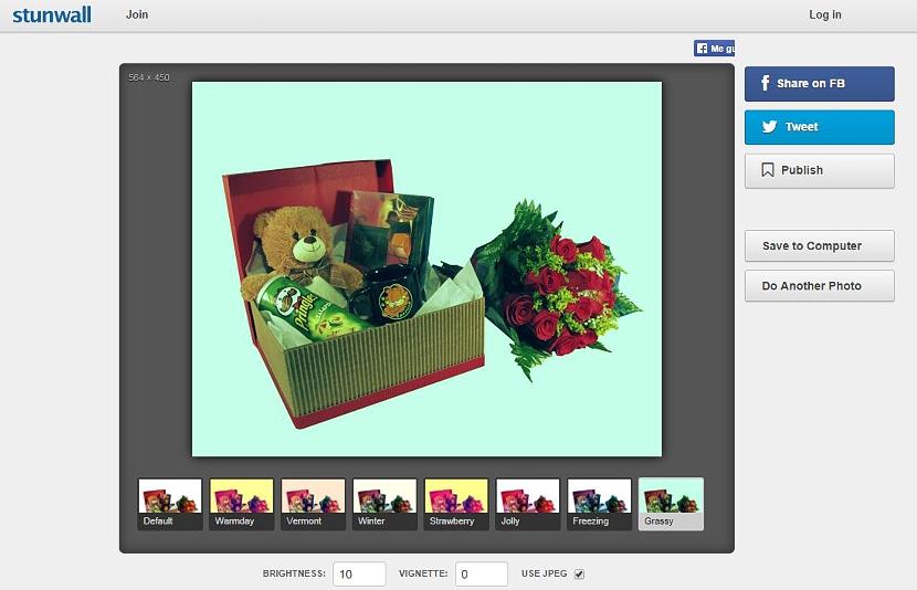 efectos de Instagram en fotos