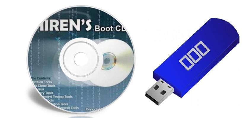 usar Hiren's Boot CD en un pendrive USB