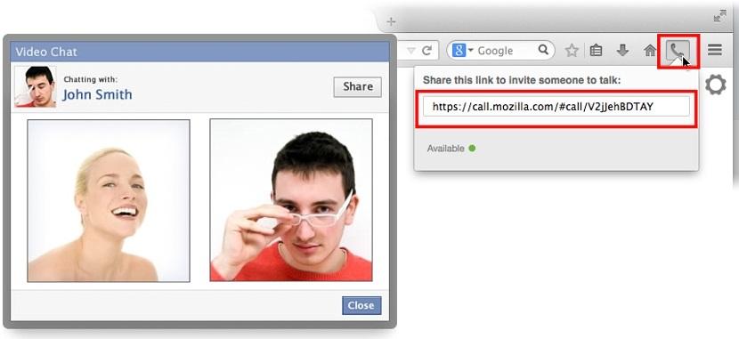 videollamadas gratuitas en Firefox