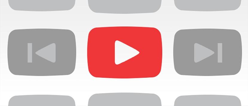 gestionar listas de reproducción de YouTube