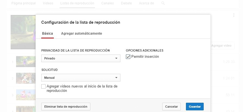 listas de reproduccion de youtube 03
