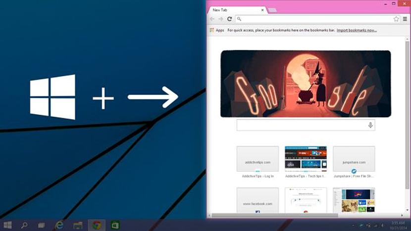 01 Snap View en Windows 10