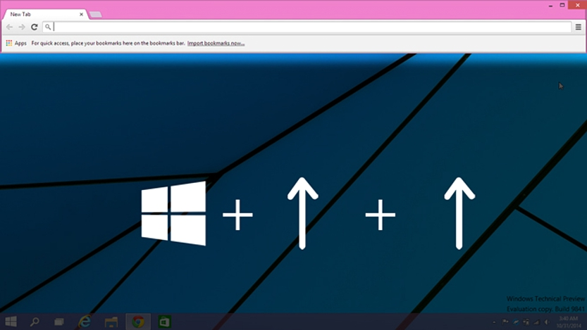 06 Snap View en Windows 10