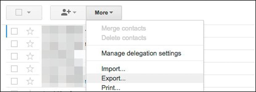 Contactos en Gmail 01