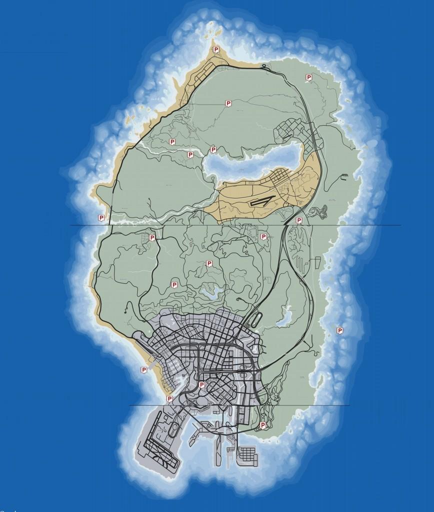 GTA V peyote mapa