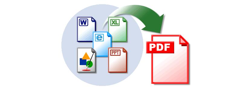 Gestor de archivos para convertirlos en PDF