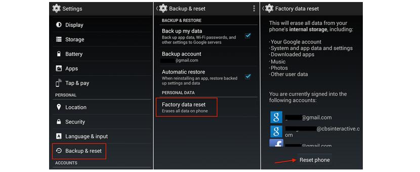 cifrar informacion de telefono movil Android 02