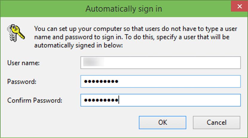 desactivar clave de inicio de sesion en Windows 10