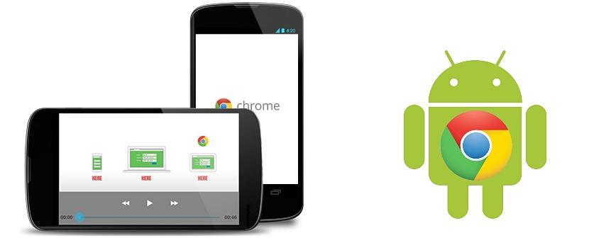 mejorar la velocidad de Chrome en Android