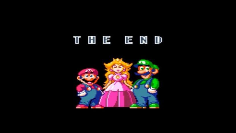 super mario world the end