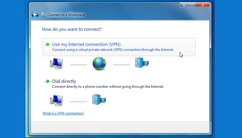 Conectarse a un RVP