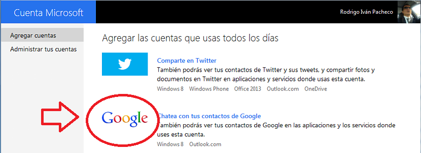 Google Talk en Outlook 01