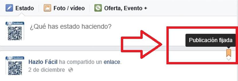 fijar publicacion en Fans Page de Facebook 04